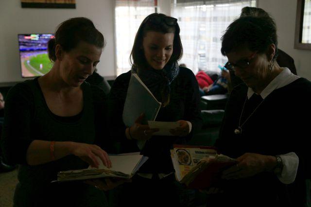 Looking through Nana's recipe books